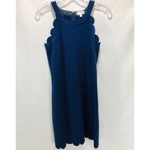 Maison Jules Navy Blue Dress.  Size S.